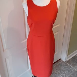Spense  Red Fitted Dress